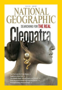 cleopatra, national georgraphic